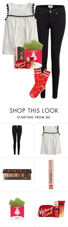 """""""Have yourself a merry little christmas"""" by grace-turnipseed ❤ liked on Polyvore featuring Paige Denim, J.Crew, Urban Decay and Aéropostale"""