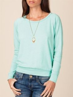Alternative Apparel Eco-Heather Slouchy Pullover : Women (on my wish list)