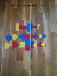 Súper PT: Simetrías con bloques lógicos