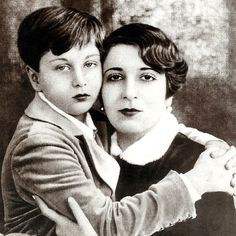 King Farouk of Egypt and his mother Queen Nazli . - Explore the World with Travel Nerd Nici, one Country at a Time. http://TravelNerdNici.com
