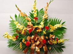 Cynthia's traditional funeral arrangement
