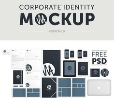 20 Free Branding and Identity Mockup Templates - UltraLinx