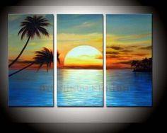 pinturas al oleo de paisajes marinos - Buscar con Google