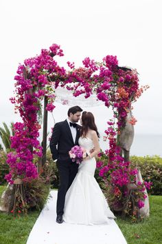 Pretty in Pink: http://www.stylemepretty.com/2015/07/17/26-floral-arches-that-will-make-you-say-i-do/
