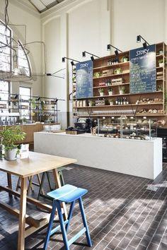 Story restaurant In Helsinki, Finland, designed by creative studio Joanna Laajisto