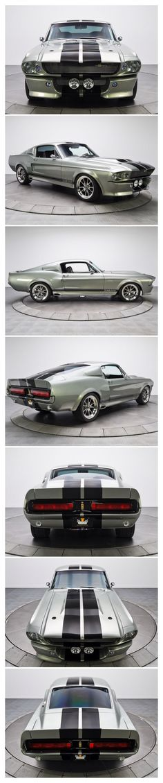 1967 Ford Eleanor GT- my dream car❤️  #RePin by AT Social Media Marketing - Pinterest Marketing Specialists ATSocialMedia.co.uk