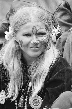 Summer of Love, 1967 - Runaway Kathy Aydelotte age 16.