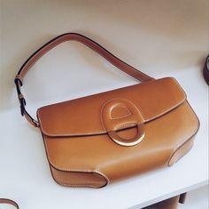 Hermes introduces a NEW BAG for 2015 Spring/Summer -Gold-Cherche-Midi-Bag www.MadamPaloozaEmporium.com www.facebook.com/MadamPalooza