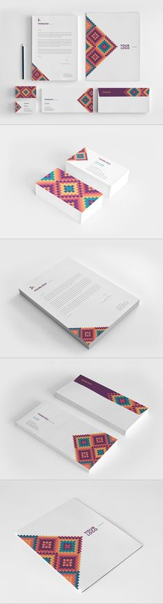 Creatieve huisstijl (afbeelding) #corporateidentity