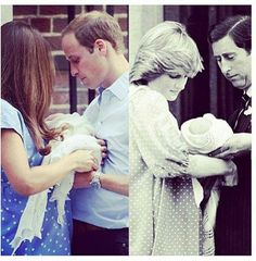 #RoyalBaby. So sweet. My favorite part has been learning the history.. this picture is perfect.