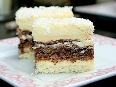 Baking Recipes, Cookie Recipes, Dessert Recipes, Easy Desserts, Delicious Desserts, Croation Recipes, Kolaci I Torte, Best Food Ever, Food Cakes