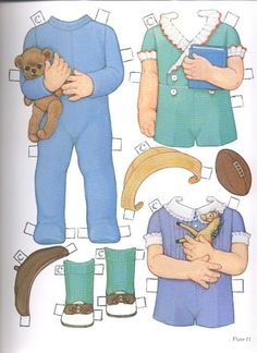 1985 Reproduction of BEST FRIENDS Paper Dolls Publisher: Dover <> Original 1930s by Queen Holden 3 of 16