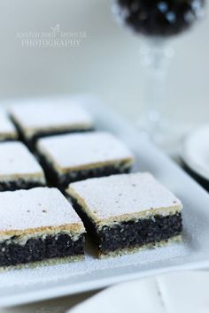 Makos beles Hungarian Desserts, Hungarian Recipes, No Bake Desserts, Dessert Recipes, Poppy Cake, Oreo Cupcakes, New Cake, Low Carb Diet, Bakery