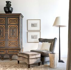 Catherine Dolen & Associates - contemporary - bedroom - dallas - by Catherine Dolen & Associates. Mudejar Armoire from @ebanistacollect.
