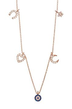 Swarovski Crystal Good Luck Charm Necklace by Bansri on @HauteLook