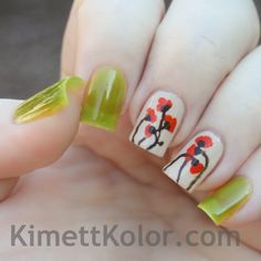 Kimett Kolor: Theme of the Month: August Peridot and Poppies