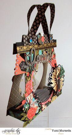 #couture #graphic45 #purse