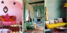 20 Imágenes que van a hacerte soñar con un rincón étnico en casa.