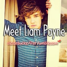 I would live to meet this kid <3 Liam Payne