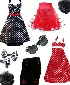 Pin up clothing