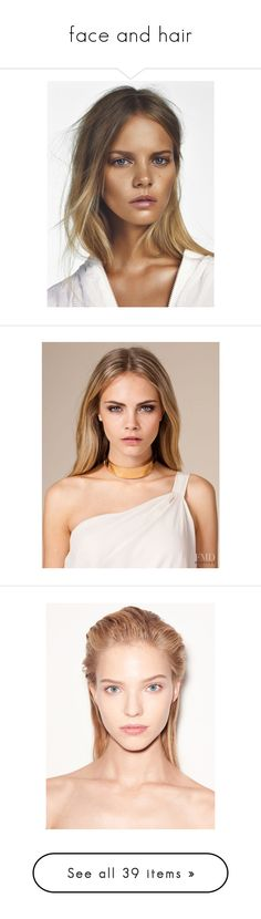"""""""face and hair"""" by chrisyttesen ❤ liked on Polyvore featuring pictures, models, people, cara, cara delevingne, faces, backgrounds, other, photo and hair"""
