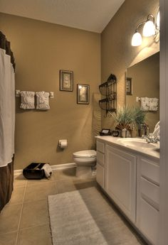 Guest bathroom wall colorsSweet Chaos Home  Guest Bathroom Reveal  Wall paint  BM Hale Navy  . Guest Bathroom. Home Design Ideas