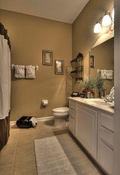 Guest bathroom wall colors