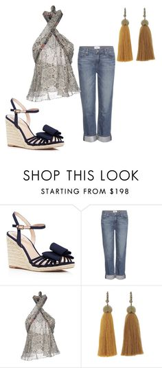 """Untitled #150"" by dreamerlondon95 on Polyvore featuring Kate Spade, Paige Denim, Isabel Marant and Lanvin"