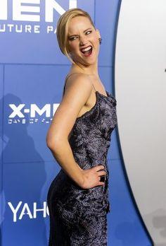 Jennifer Lawrence Red Carpet X-Men Premiere - Cosmopolitan Jennifer Lawrence X Men, Vanity Fair, Mtv, Jason Wu, Red Carpet Looks, Woman Crush, Celebrity Style, Glamour, Celebrities