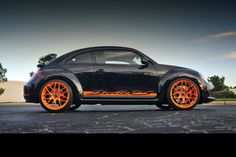 Modified 2012 Beetle inspired by the Porsche 911 GT3 RS