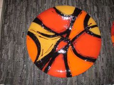 Glass and iron crafts - Photo gallery Fused Glass Plates, Fused Glass Jewelry, Fused Glass Art, Stained Glass, Arte Country, Kandinsky, Photo Craft, Ceramic Painting, Photo Galleries