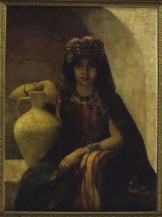 jeune fille de kabylie
