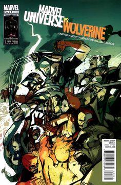 #MARVEL [] MARVEL UNIVERSE vs WOLVERINE [] http://marvel.wikia.com/Marvel_Universe_Vs._Wolverine_Vol_1_2 []