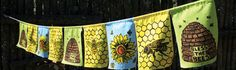Bee blessings {prayer flags}