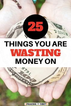 Want to know why you can't save money in spite of the fact that you make a decent living? Learn how not to waste money on these daily things. #moneyrules #budgeting #savingmoney #frugalrules