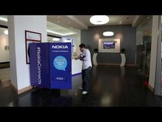The Nokia gift machine powered by Foursquare
