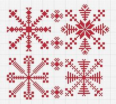 N e e d l e p r i n t: Estonian Snowflakes - Free Download