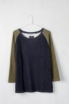 colorblocked pullover - United by Blue ($48)