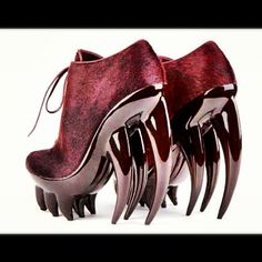 angry shoes