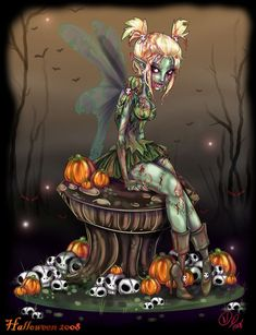 Disney Horror Tink as a Zombie-Fairy, has possibilities!