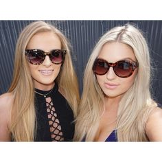 Me and @_sallyjo_ wearing our new fav sunglasses from @paganmarienz www.paganmarie.com use 'shaaanxo' for a discount! #shaaanxo #paganmarie #gorgeousprawn