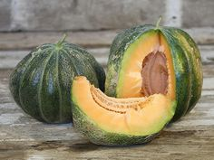 Canoe Creek Colossal Melon | Baker Creek Heirloom Seeds