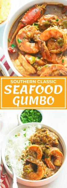 Seafood Boil Recipes, Cajun Recipes, Seafood Dishes, Soup Recipes, Cooking Recipes, Shrimp Gumbo Recipes, Cajun Food, Appetizer Recipes