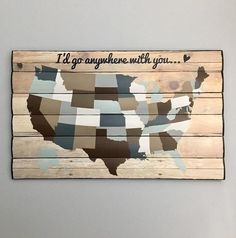 #Art #Etsy #I39d #Map #travel #Wall #Wooden Wooden Map, Wooden Wall Art, Wooden Walls, Wood Art, Map Wall Art, Map Art, Travel Wall Decor, Family Room Decorating, Decorating Ideas