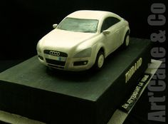 I always wanted to do a car cake and yet wasn't so impatient :) and yes it is hell!!! well even if you are well prepared , have plans, patterns, pictures from all sides of the car etc... still it is a nightmare. :) I was finally happy to deliver it a Nice Audi photo found on the web