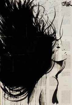 "Saatchi Art Artist Loui Jover; Drawing, ""new mistral .... SOLD"" #art"