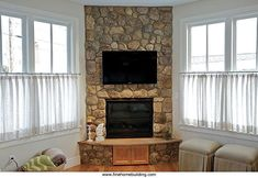 corner gas fireplace - Google Search                                                                                                                                                                                 More #FireplaceMantle