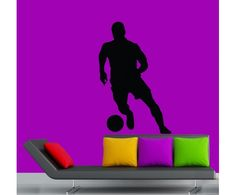 Football wall sticker by meSleep available on http://www.makenlive.com/products/9465/walls-and-paints/wall-stickers/Football   #cool #art #wall #sticker #home #decor #FIFA #sport