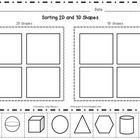This worksheet can be use to assess whether or not your students can differentiate between 2D and 3D shapes.  Great to use for pre and post assessm...