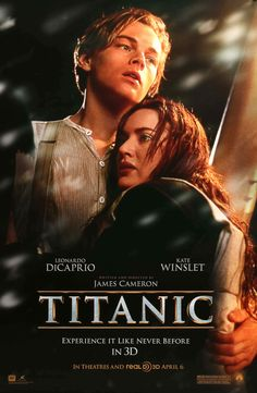 Watch the movie trailer for Titanic on Movie-List. Directed by James Cameron and starring Leonardo DiCaprio, Kate Winslet, Billy Zane and Kathy Bates. A boy and girl from differing social backgrounds meet during the ill-fated maiden voyage of RMS Titanic. James Cameron, Billy Zane, Film Music Books, Music Tv, Old Movies, Great Movies, Awesome Movies, Funny Movies, Vintage Movies